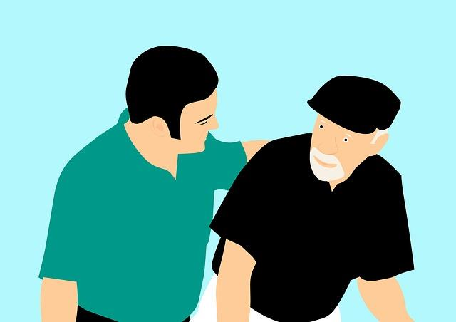 【認知症父5】足が痛いと訴えた父。介護職の方さすが。